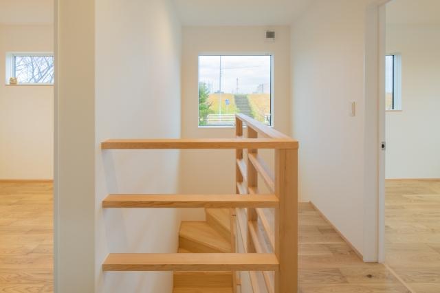 眺めのいい2階ホール