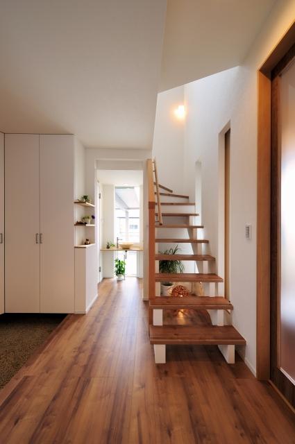 玄関・手洗い・階段