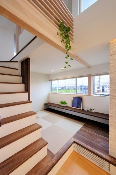 タタミスペース・ロフト階段