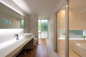 洗面室の間接照明