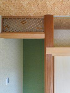 思い出の欄間と床柱を再利用したリフォーム