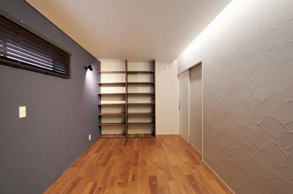 寝室・本棚