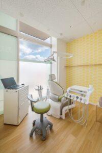 おだ歯科医院診察室