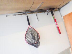 釣り道具の収納