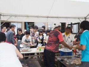 高田建築事務所イベントのBBQ