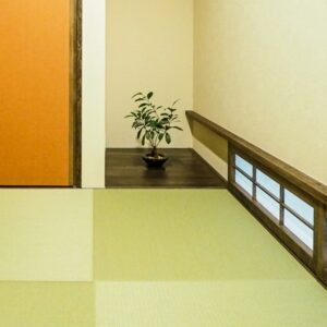 和室と地窓