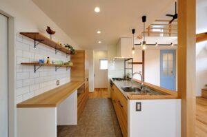 カフェ風のキッチン