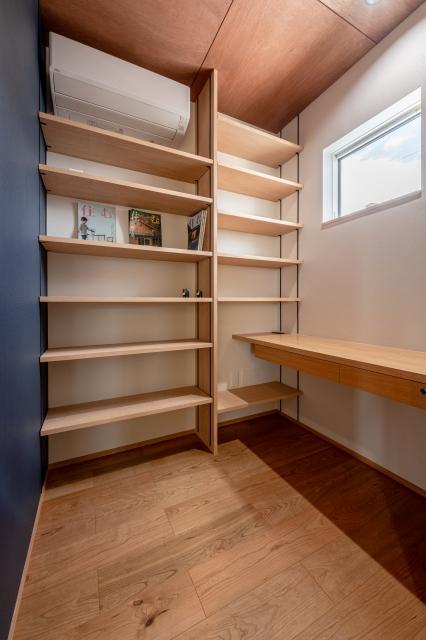 在宅ワークができる書斎スペース