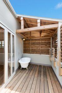 自宅で露天風呂