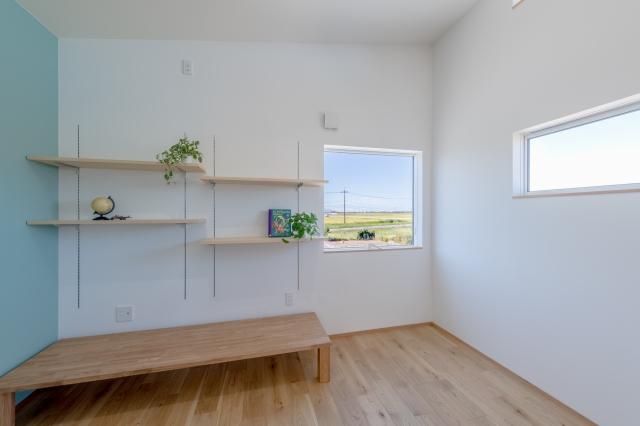 借景と造作飾り棚