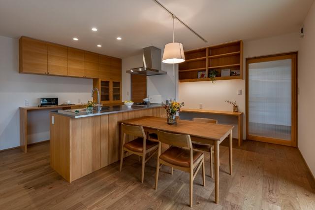 ウッドワンの木製キッチン