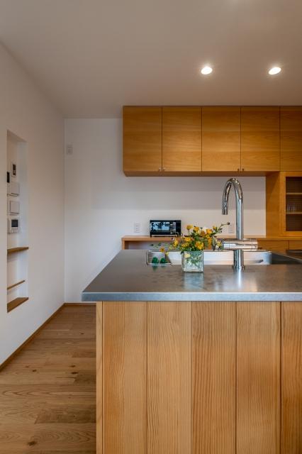 WOODONEの木製キッチン