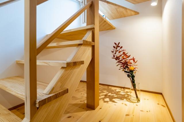 階段下を演出スペースに