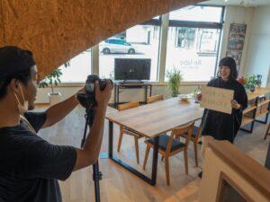 高田建築事務所スタッフのYouTube動画撮影