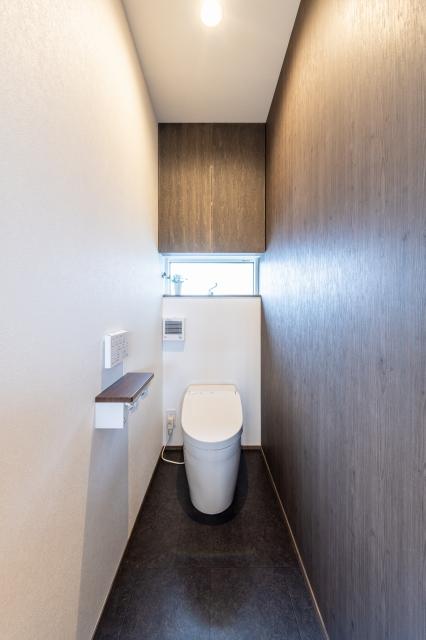 スタイリッシュなトイレ空間