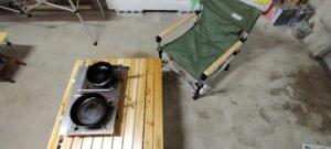 ウィンター用品とキャンプ用品のお手入れ