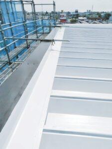 遮熱塗料で屋根リフォームのアフター