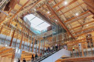 おもしろい建築紹介、富山県富山市のTOYAMAキラリ」